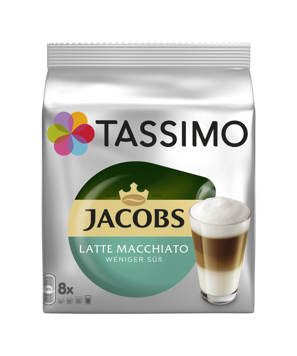 Jacobs Latte маккиато менее сладкий