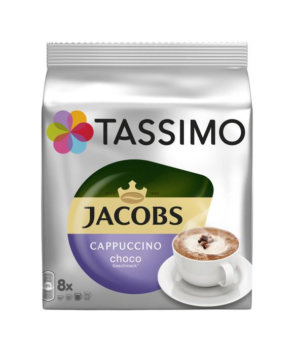 Jacobs капуччино Чоко
