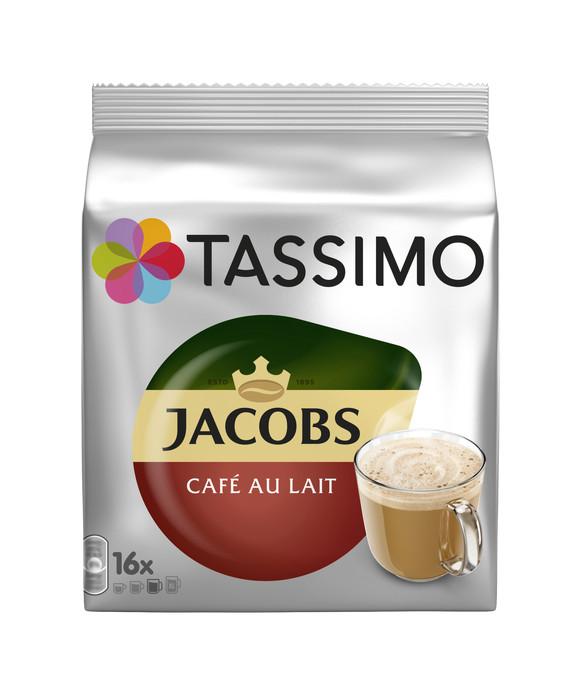 Jacobs кофе с молоком