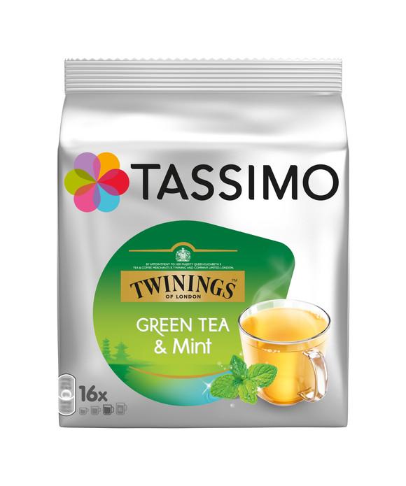 Twinings Зеленый чай и Мята