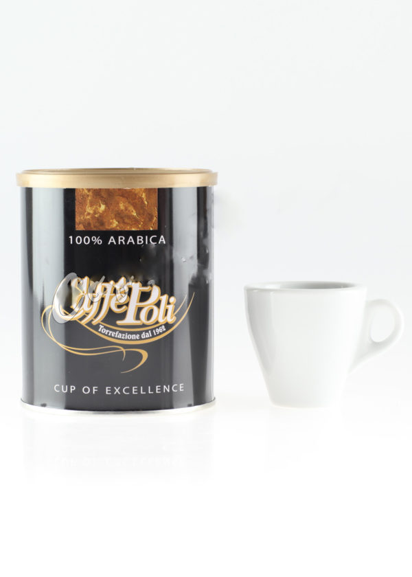 Кофе Poli (Поли) молотый 100% Arabica ж.б. (thumb10736)