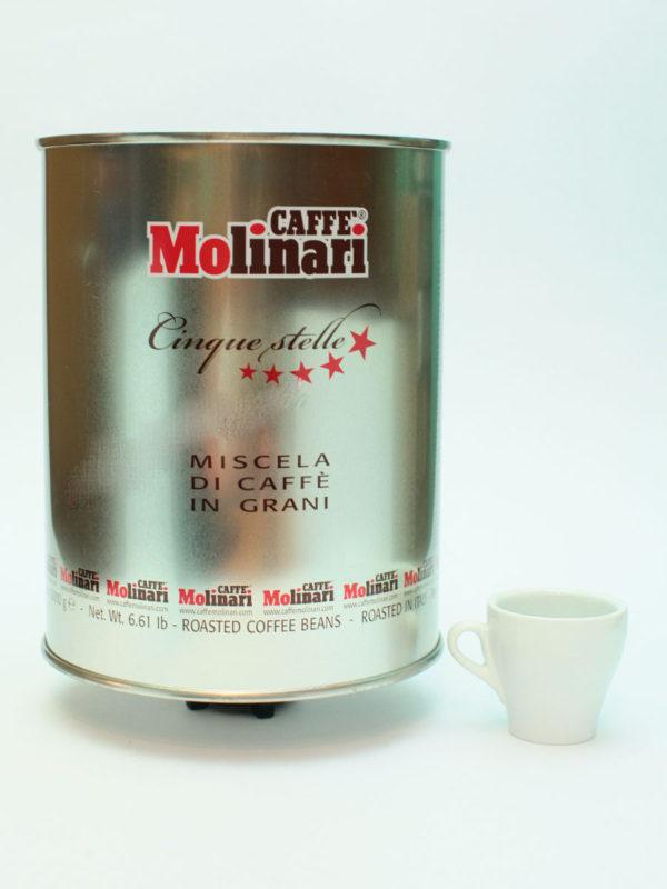 Кофе Molinari  в зернах  5 звезд (thumb8629)