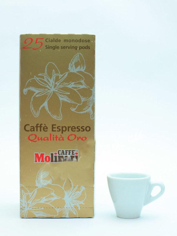 Кофе Molinari в чалдах Oro (thumb8613)