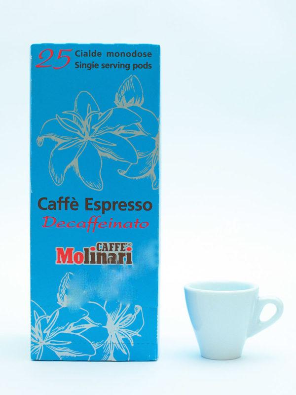 Кофе Molinari в чалдах  Decaffeinato (thumb8611)