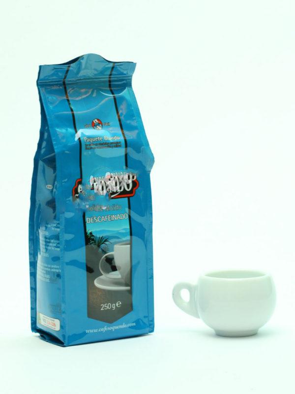 Кофе Oquendo (Окендо) молотый Descafeinado без кофеина 250 гр (thumb10800)