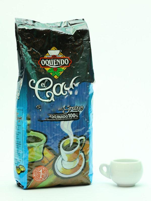 Кофе Oquendo (Окендо) в зернах El Cafe Descafeinado 1 кг (thumb9893)