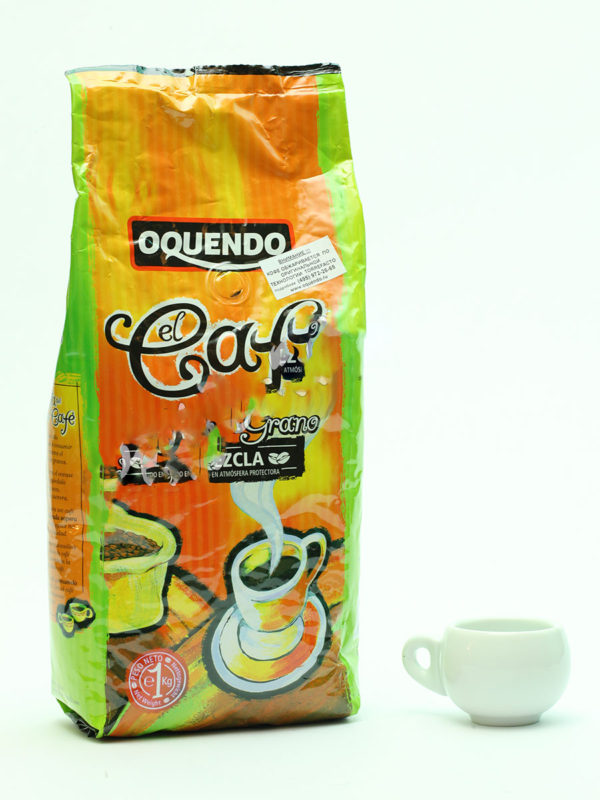 Кофе Oquendo (Окендо) в зернах El Cafe Mezcla 1 кг (thumb9715)