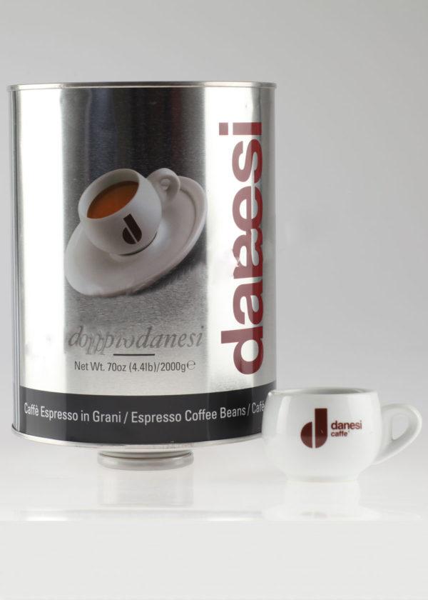 Кофе Danesi (Данези) в зернах Dopio (thumb10093)