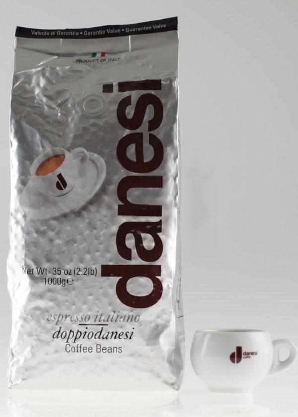Кофе Danesi (Данези) в зернах Dopio (thumb10131)
