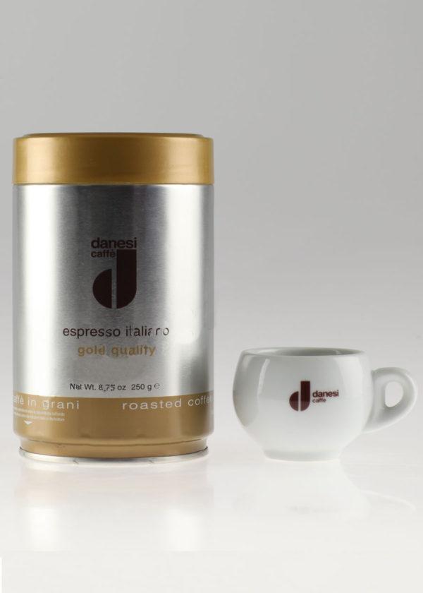 Кофе Danesi (Данези) в зернах Gold (thumb9353)