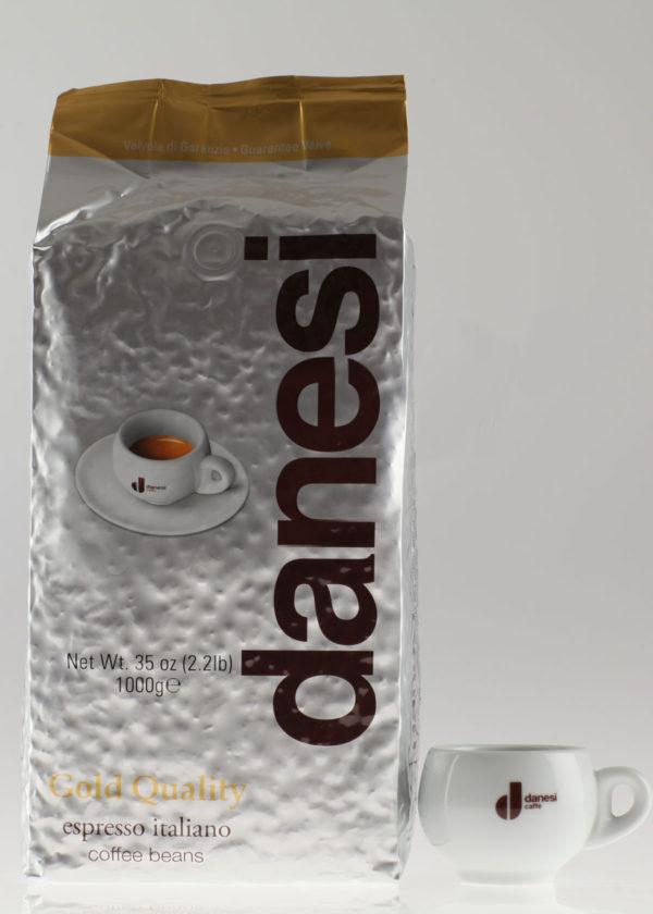 Кофе Danesi (Данези) в зернах Gold (thumb10087)
