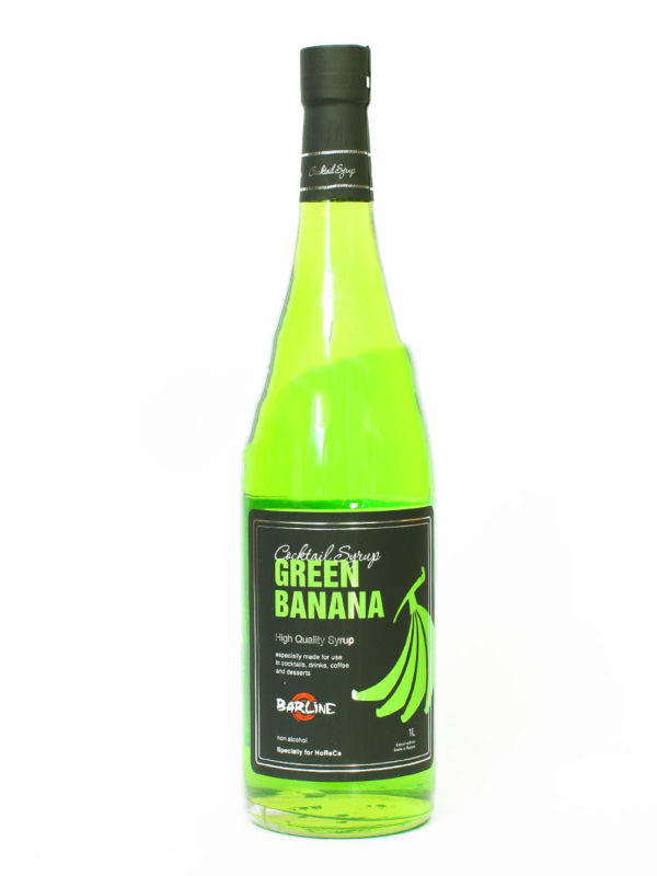 Сироп Barline Зеленый банан 1 л (thumb11750)