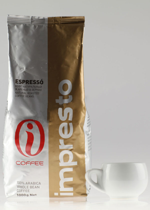 Кофе Impresto (Импресто) в зернах Espresso (thumb9847)