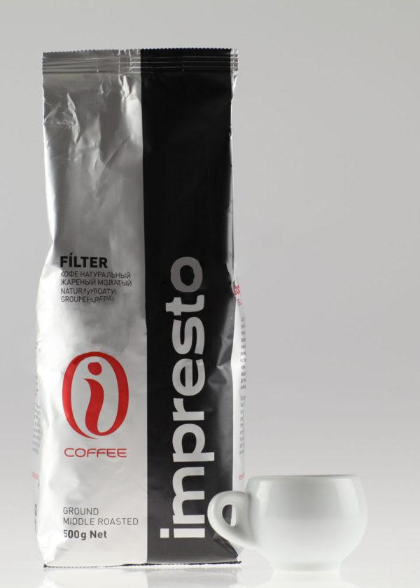 Кофе Impresto (Импресто) молотый Filter (thumb10920)