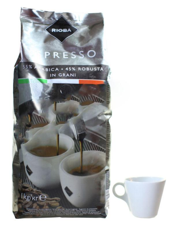 Кофе Rioba (Риоба) в зернах Silver (thumb9415)