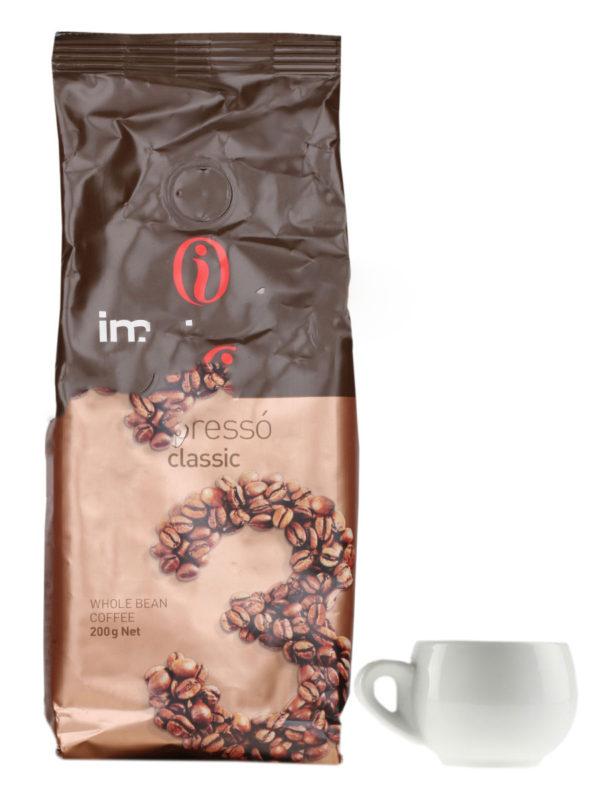 Кофе Impresto в зернах Classic 200 гр (thumb8951)