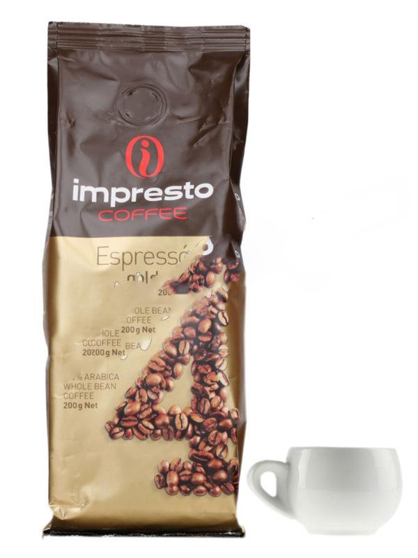 Кофе Impresto в зернах Espresso 200 гр (thumb8999)